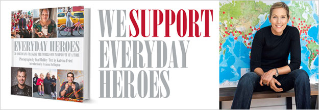 We Support Everyday Heros cover